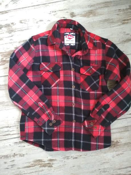 Модная теплая рубашка lee cooper фото №1