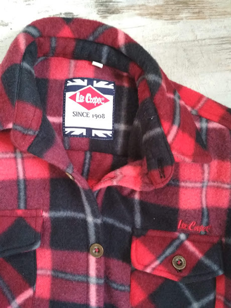 Модная теплая рубашка lee cooper фото №2