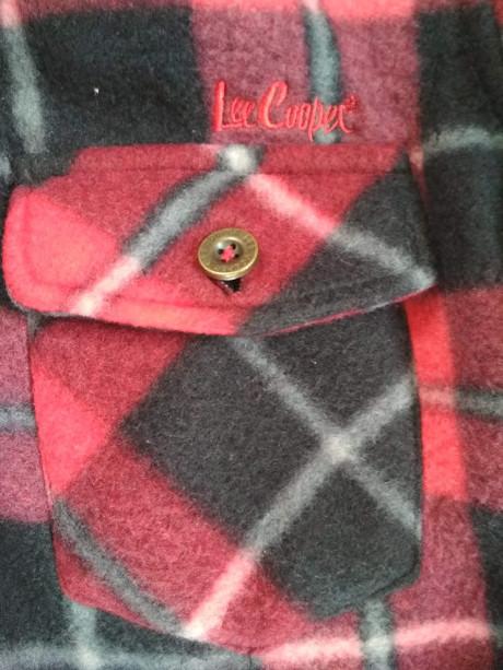 Модная теплая рубашка lee cooper фото №4