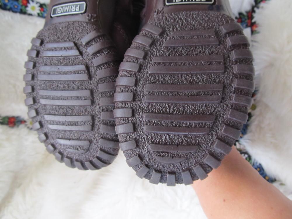 Сапоги детские зимние, замшевые фирмы primigi-26 размер,17см. фото №9