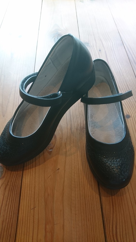 Туфли девочке размер 33 фото №1