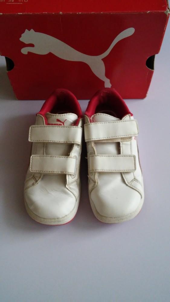 Кожаные кроссовки puma оригинал, разм. 27 фото №2