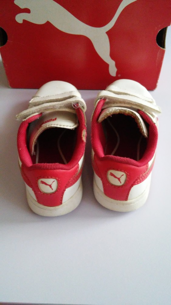 Кожаные кроссовки puma оригинал, разм. 27 фото №3