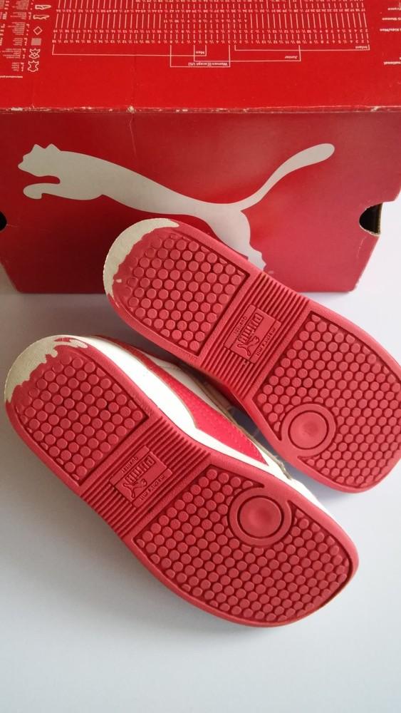 Кожаные кроссовки puma оригинал, разм. 27 фото №4