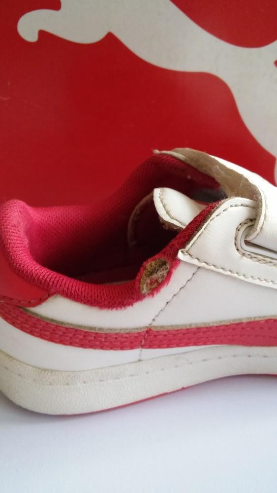 Кожаные кроссовки puma оригинал, разм. 27 фото №5