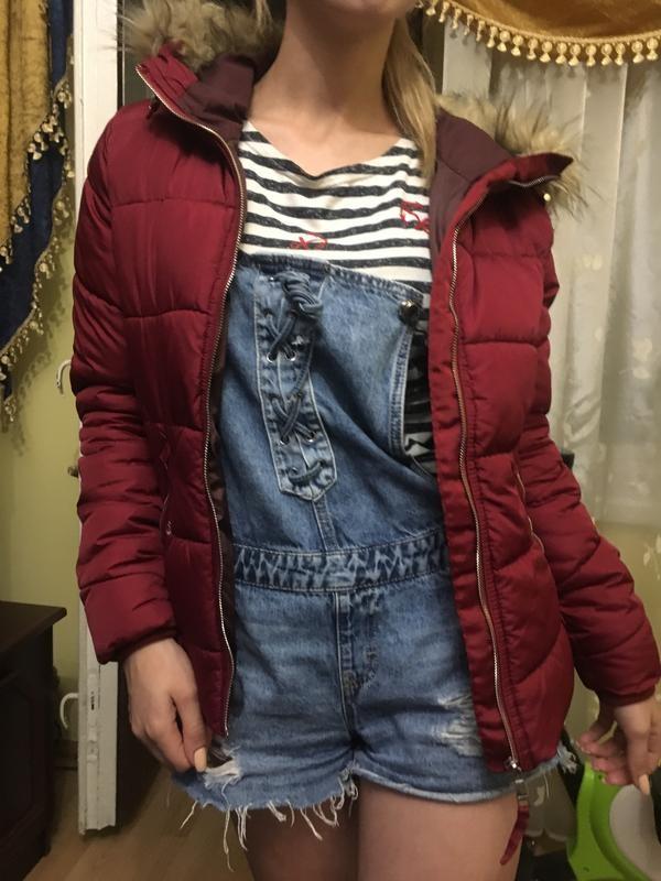 Куртка жіноча осінь-весна bershka, розмір s, куртка женская фото №3
