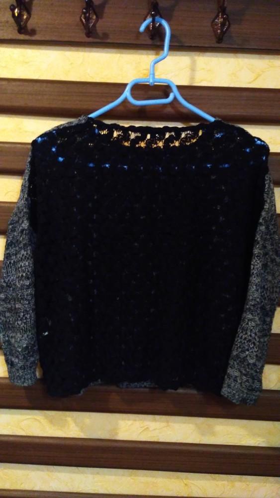 Кофта женская, свитер оверсайз, кофта жіноча, светр жіночий фото №4