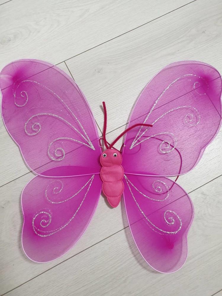 Бабочка на спинку, крылышки, крылья 45 см фото №1
