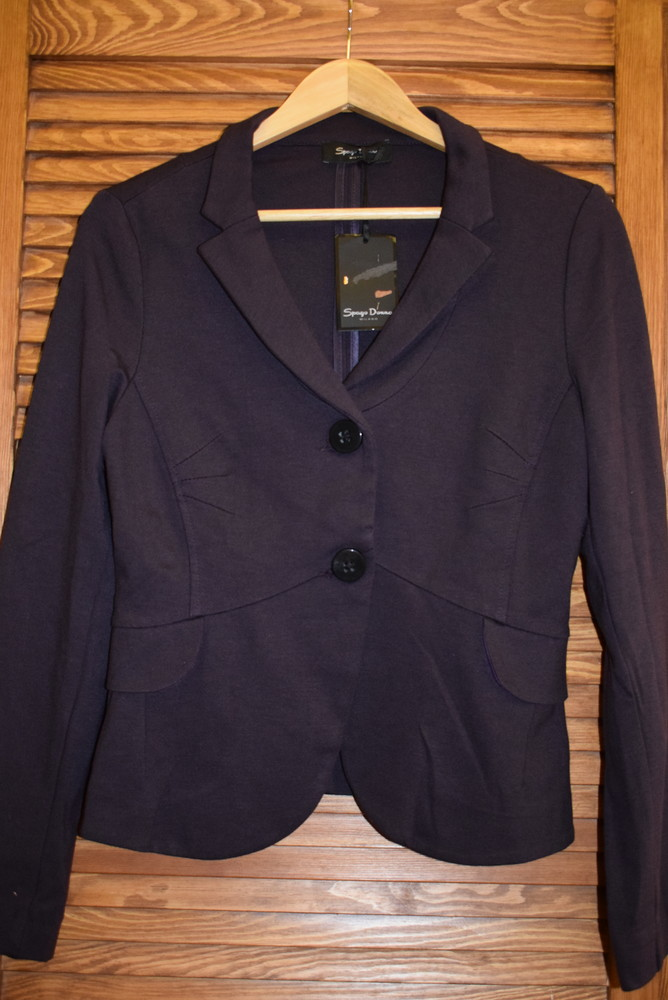 Новый пиджак/жакет блейзер spago donna, размер м фото №1