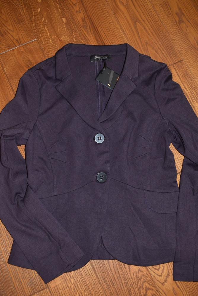 Новый пиджак/жакет блейзер spago donna, размер м фото №2