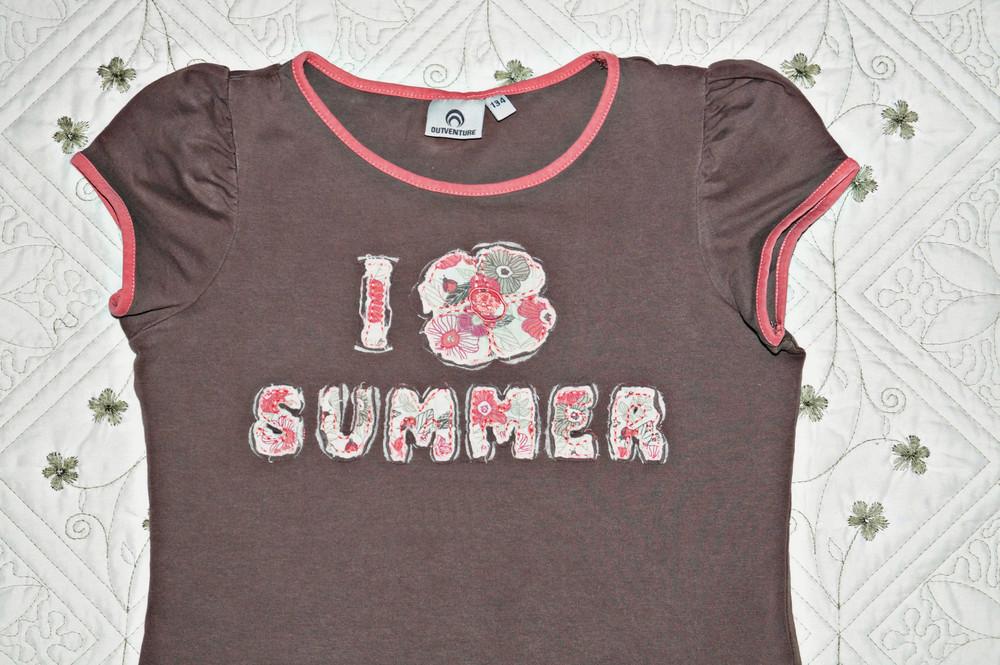 Красивая футболка для девочки тм outventure фото №2