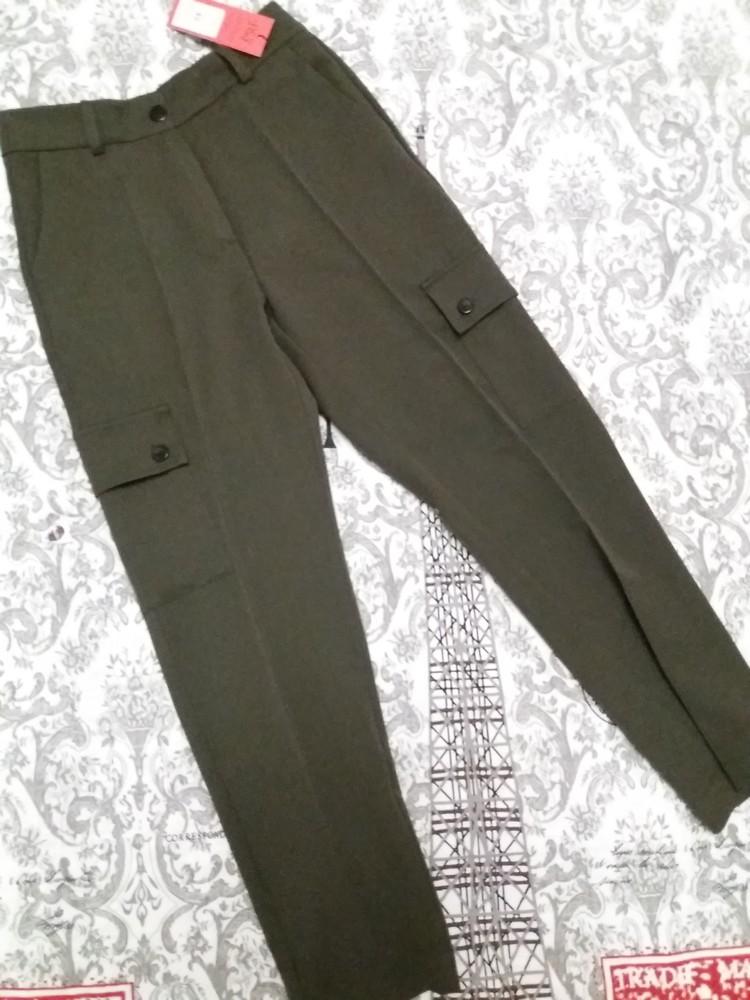Стильные женские брюки р.42 фото №3