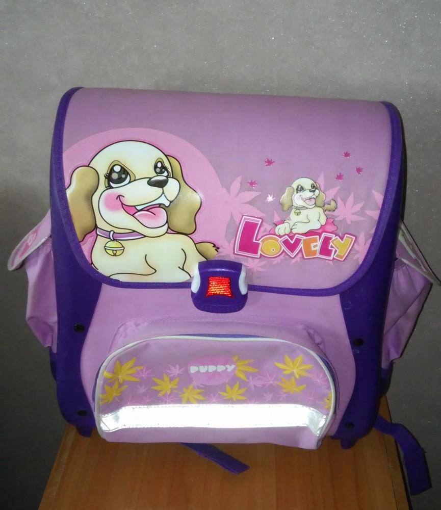 Каркасный рюкзак для девочки фото №2