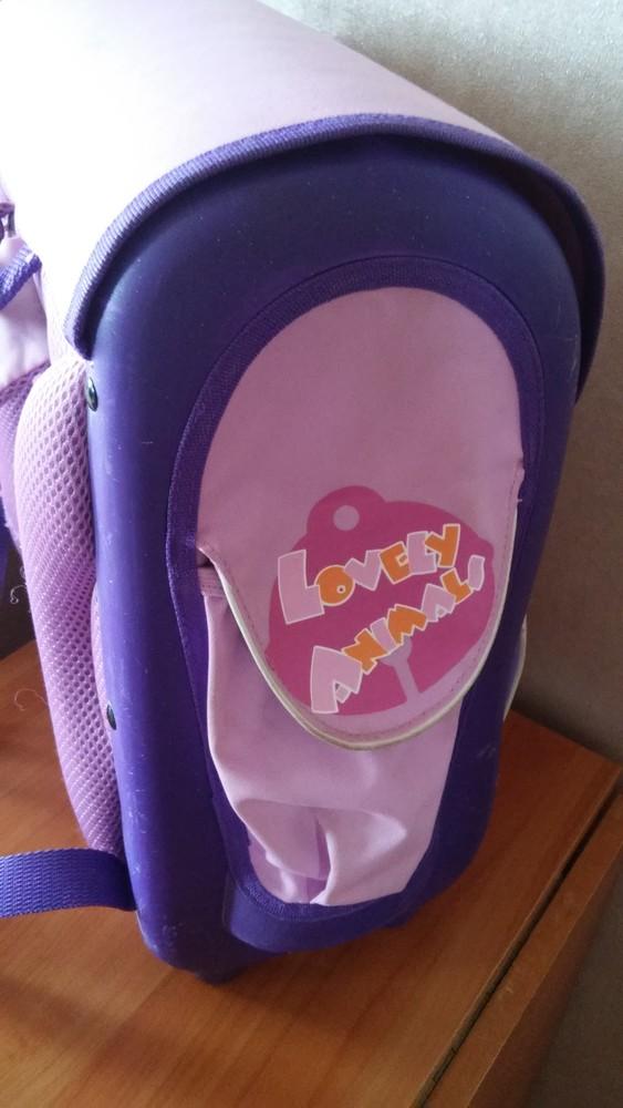 Каркасный рюкзак для девочки фото №7