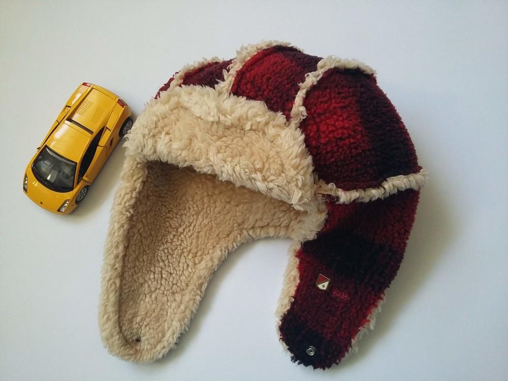Зимняя шапка на мальчика, разм.52-54 фото №2