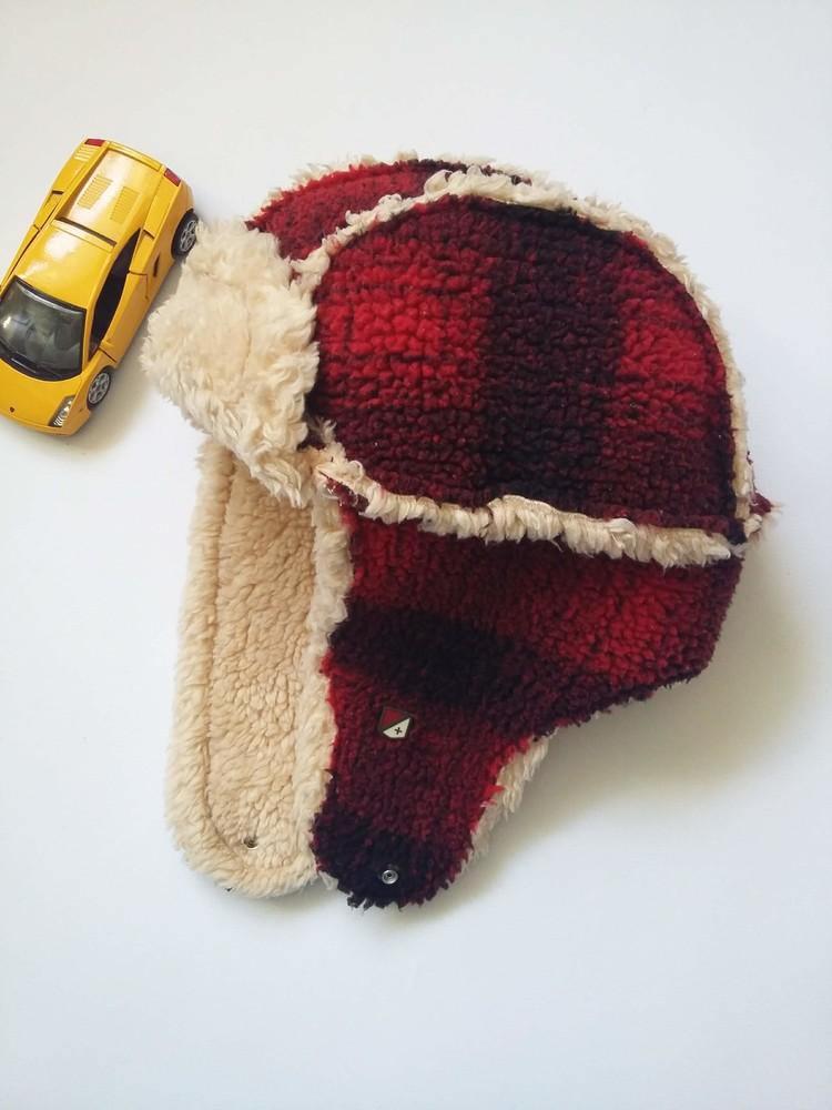 Зимняя шапка на мальчика, разм.52-54 фото №4
