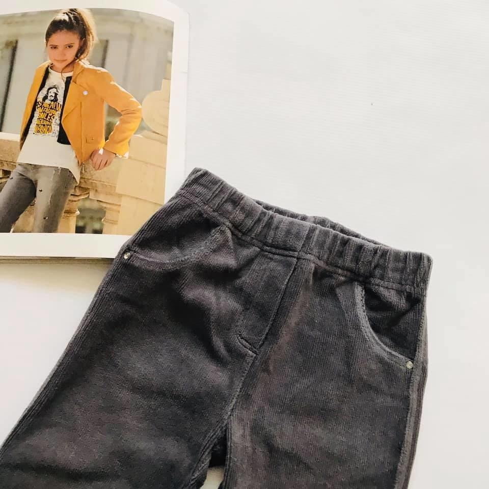 Скини o´stin вельветовые штаны лосины цвет графит р110-116 фото №2