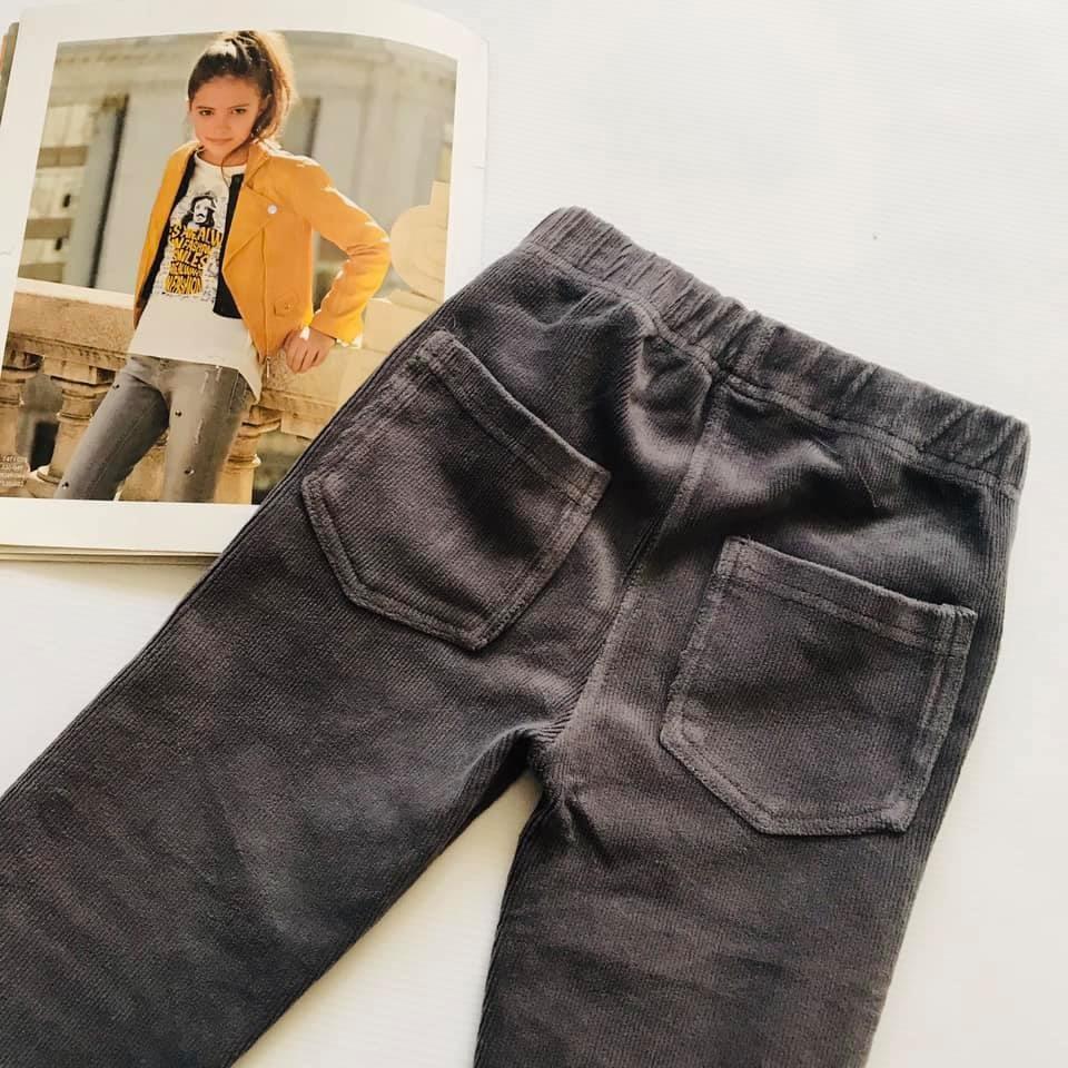Скини o´stin вельветовые штаны лосины цвет графит р110-116 фото №5