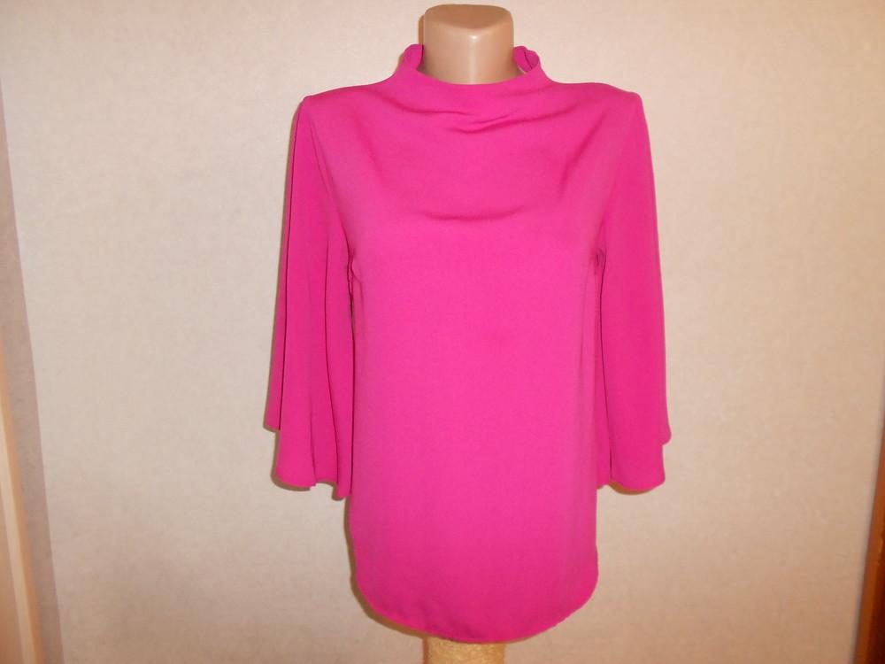 Primark яркая блуза с расклешенным рукавом, р.8, европ.36, xs-s фото №2