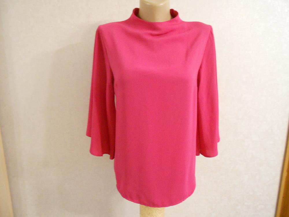 Primark яркая блуза с расклешенным рукавом, р.8, европ.36, xs-s фото №3
