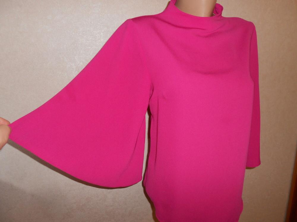 Primark яркая блуза с расклешенным рукавом, р.8, европ.36, xs-s фото №4
