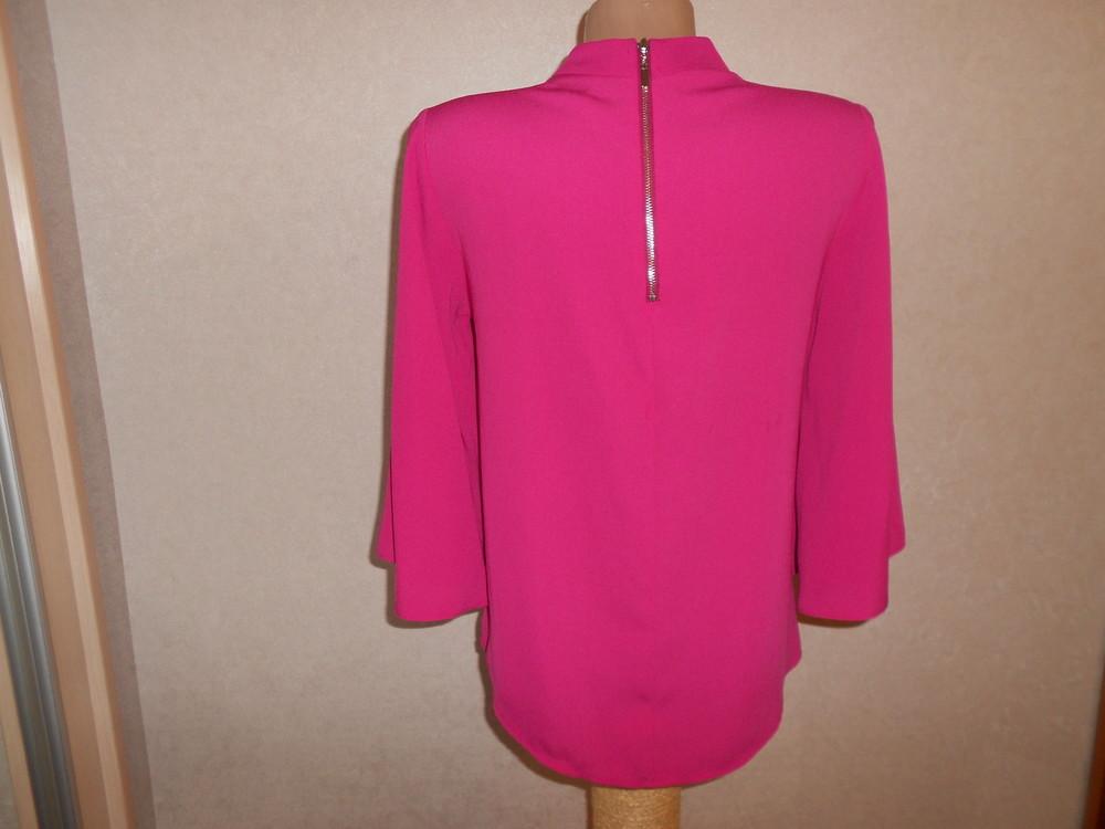Primark яркая блуза с расклешенным рукавом, р.8, европ.36, xs-s фото №7