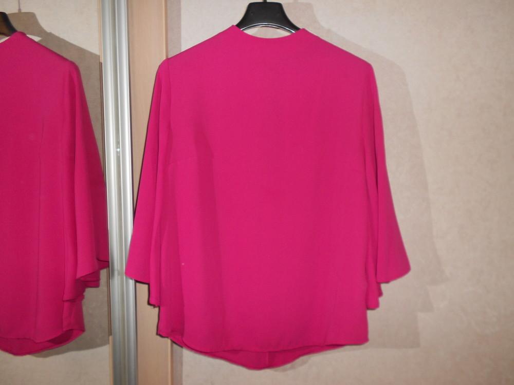 Primark яркая блуза с расклешенным рукавом, р.8, европ.36, xs-s фото №9
