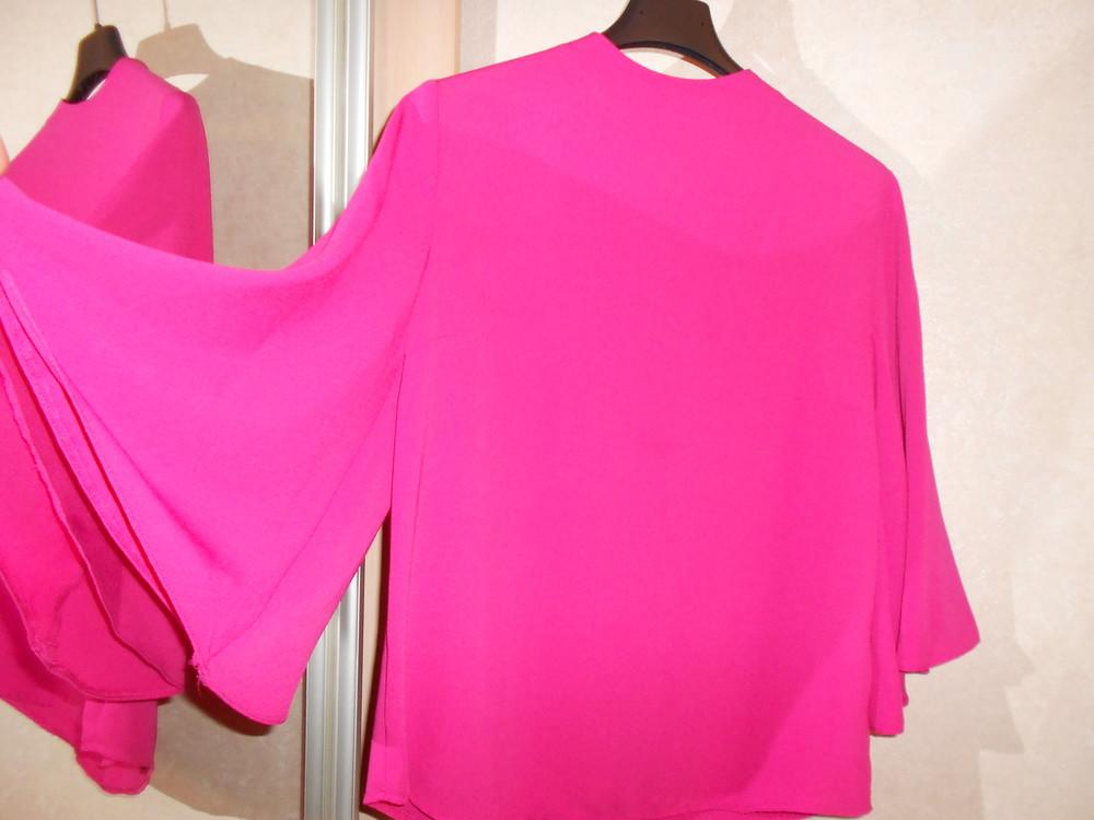 Primark яркая блуза с расклешенным рукавом, р.8, европ.36, xs-s фото №10