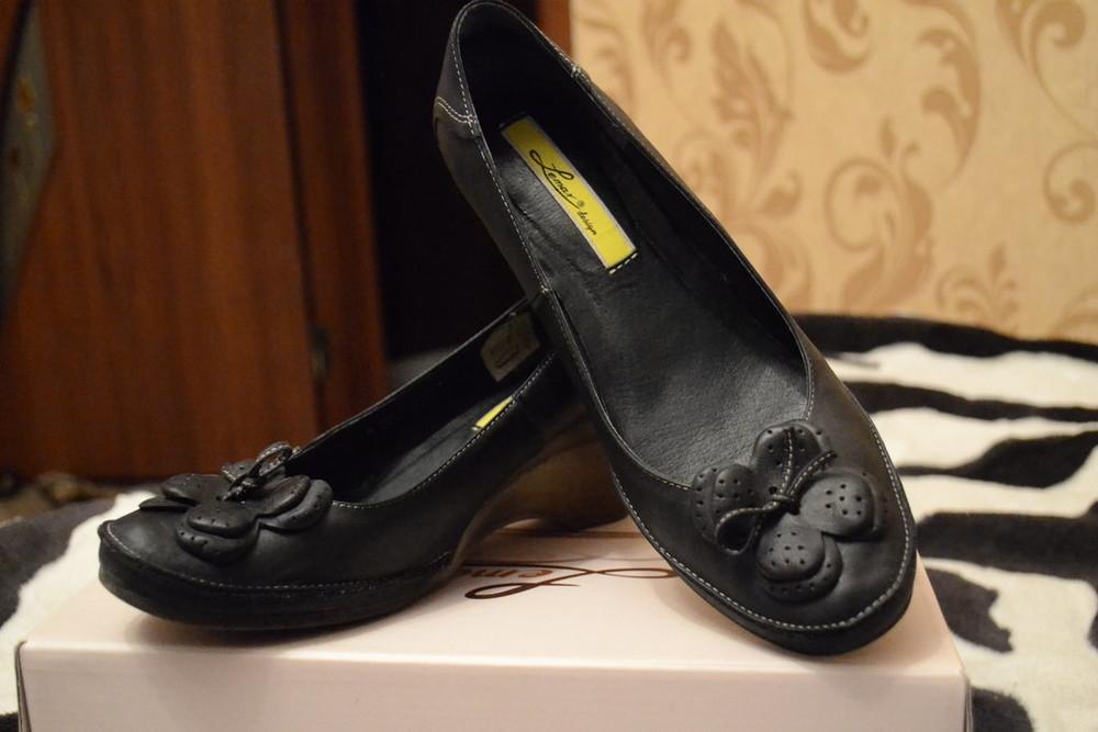 Туфли женские кожаные в наличии фото №1