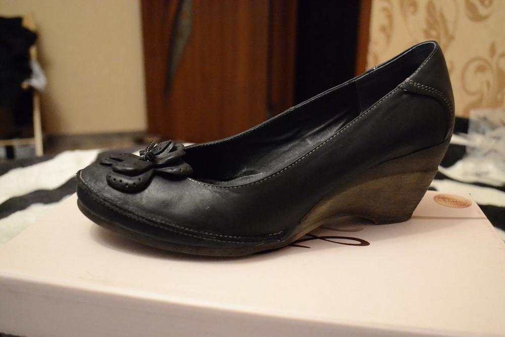 Туфли женские кожаные в наличии фото №2