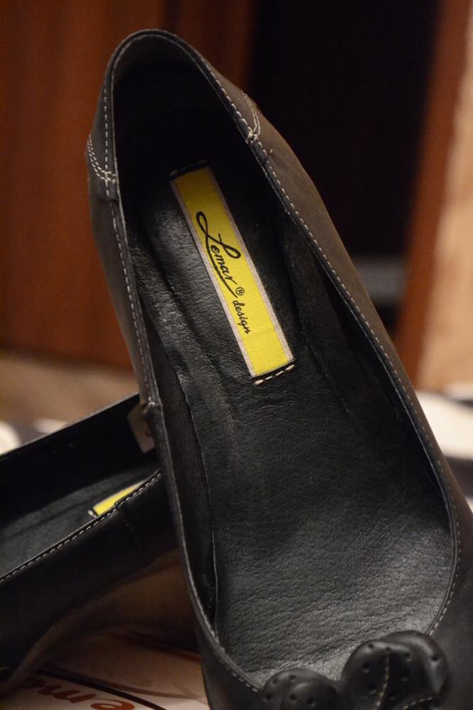 Туфли женские кожаные в наличии фото №3