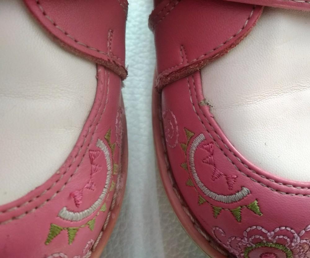 Кожаные розовые ботинки шалунишка ортопед р. 25 фото №10