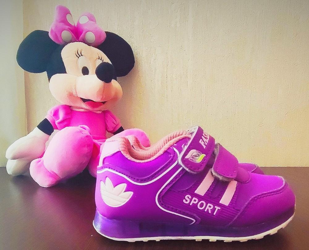 Кросівки для дівчинки фото №1