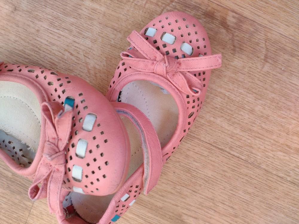Летние туфельки р. 27 стелька17 см. фото №4