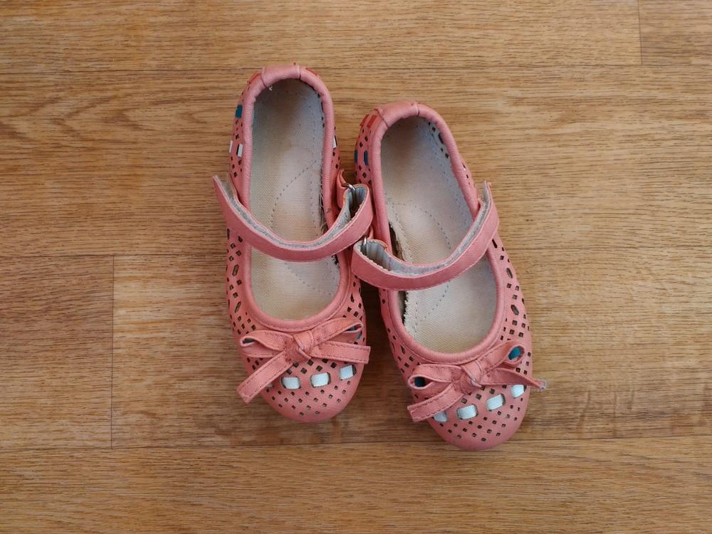 Летние туфельки р. 27 стелька17 см. фото №5