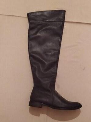 Испанские кожаные сапоги фото №1