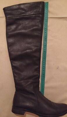 Испанские кожаные сапоги фото №2
