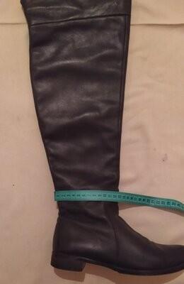 Испанские кожаные сапоги фото №3