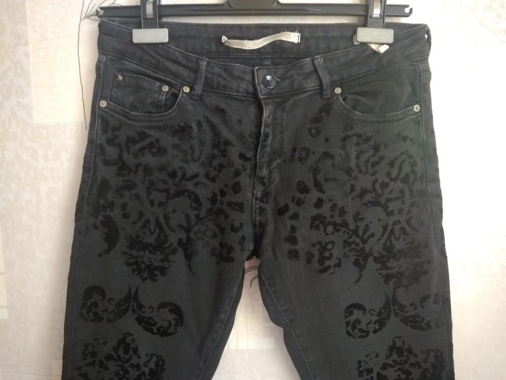 Стильні чорні джинси фото №3