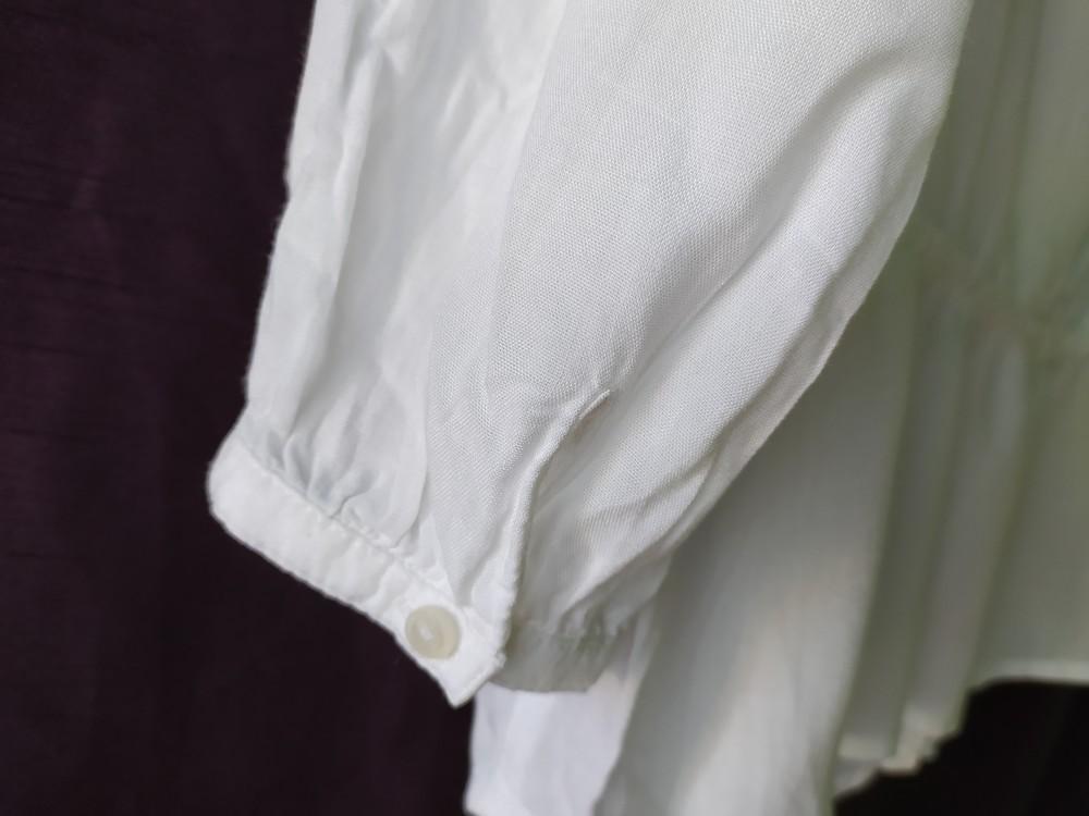 Esprit великолепная белая блуза туника, р.36, s-ка фото №8