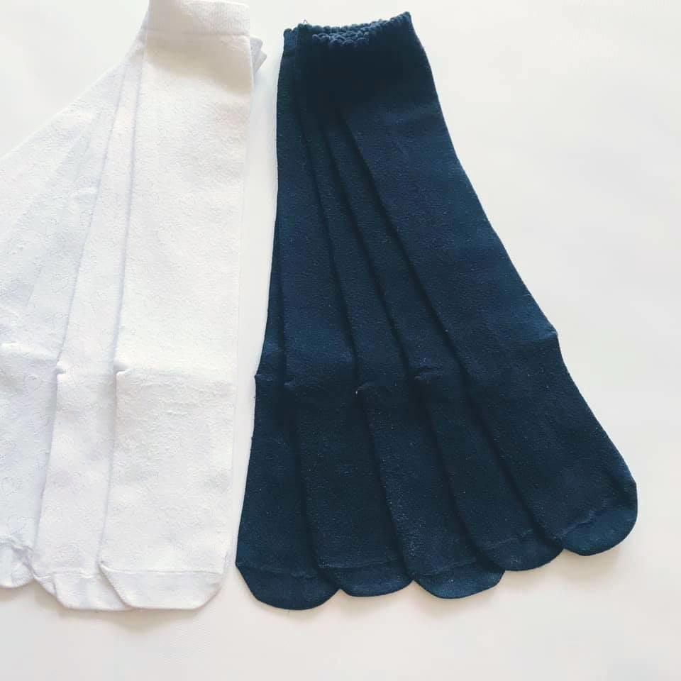 Школа - next - гольфы белые в сердечки и темно-синие однотонные р31/36 фото №3