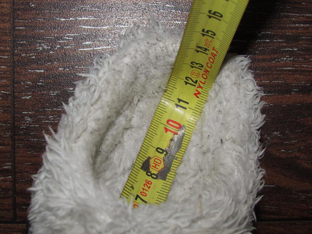 Детские теплые тапочки 23 р-ра с мехом для самых маленьких. чтобы не мерзли ножки. очень классные. фото №5