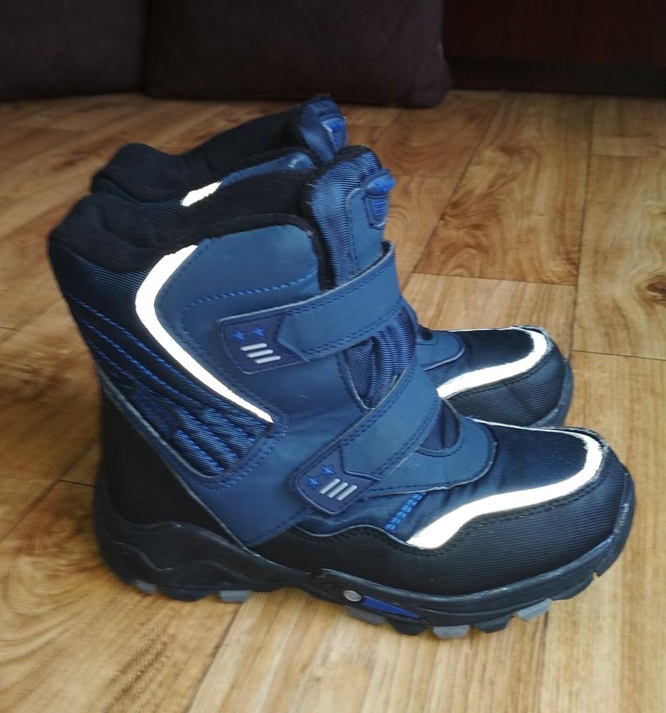 Качественные термо ботинки tom.m 21см фото №3