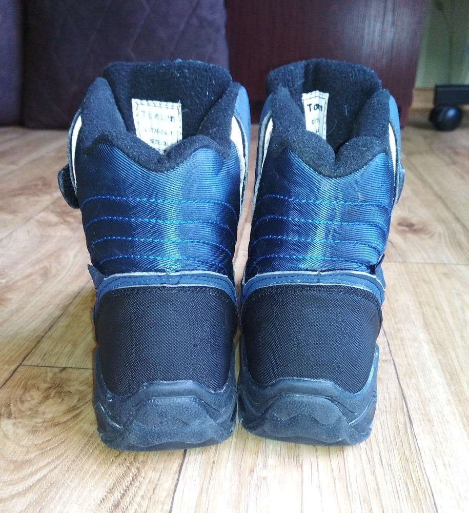 Качественные термо ботинки tom.m 21см фото №4