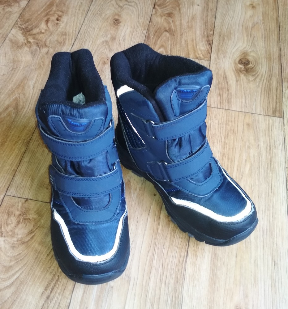 Качественные термо ботинки tom.m 21см фото №5