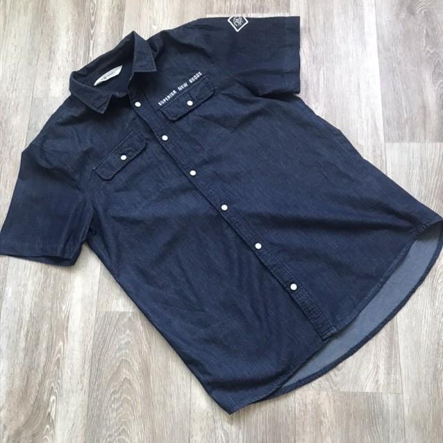 Джинсовая рубашка фото №1
