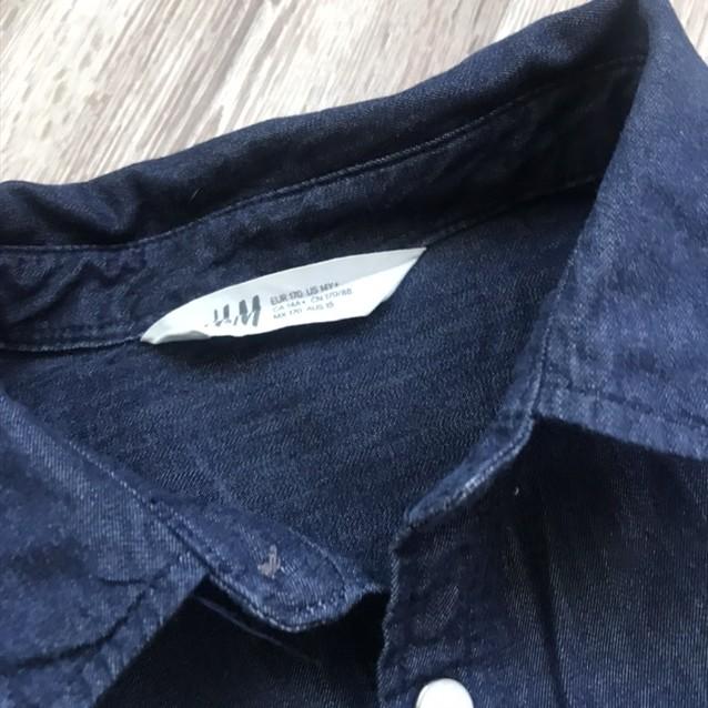 Джинсовая рубашка фото №3