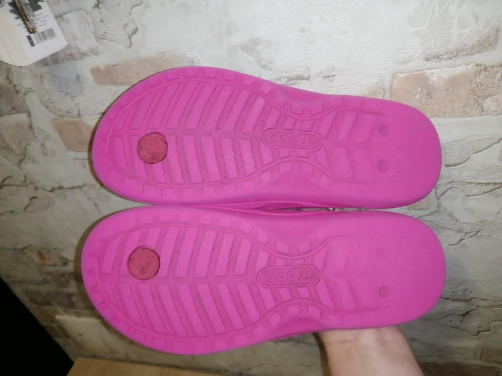 Шлепанцы crocs iconic comfort размер j1 фото №7