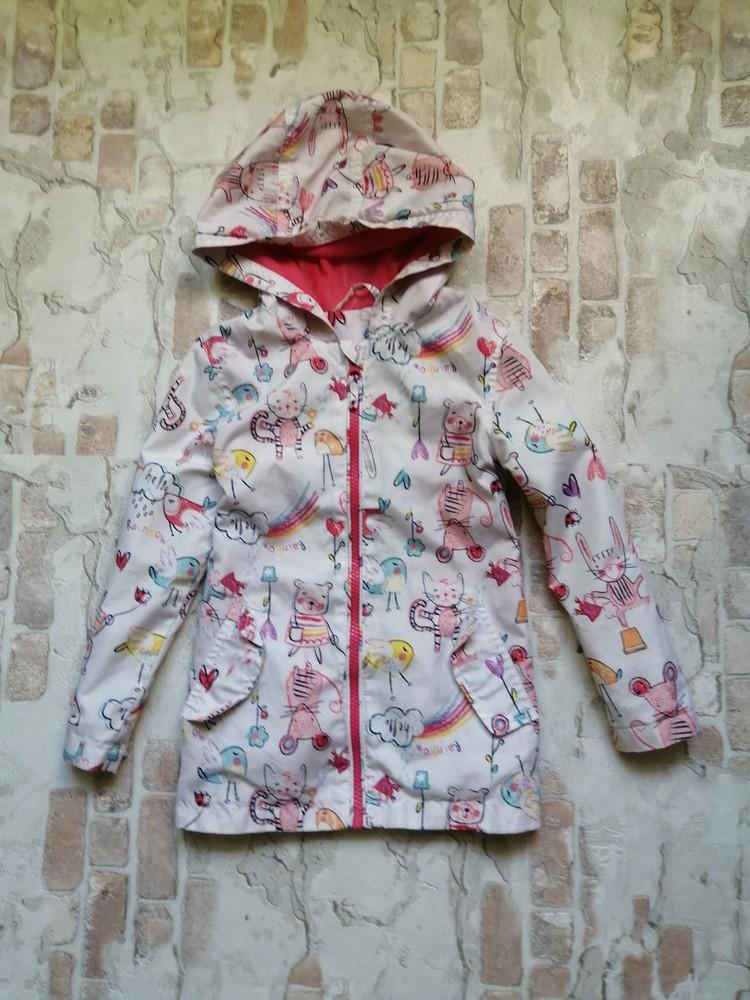 Легкая куртка ветровка nutmeg на 3-4 года фото №1
