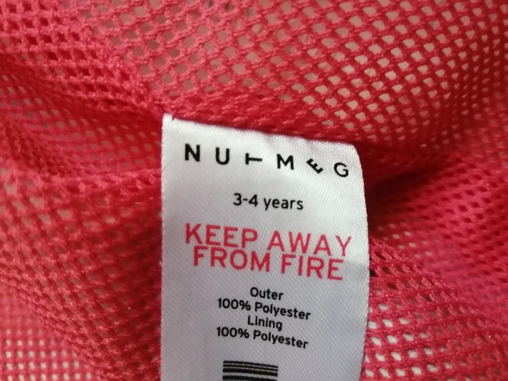 Легкая куртка ветровка nutmeg на 3-4 года фото №3